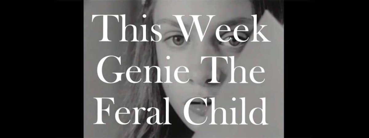 Genie, The Feral Child, part 3 – I Can't Believe It's ...